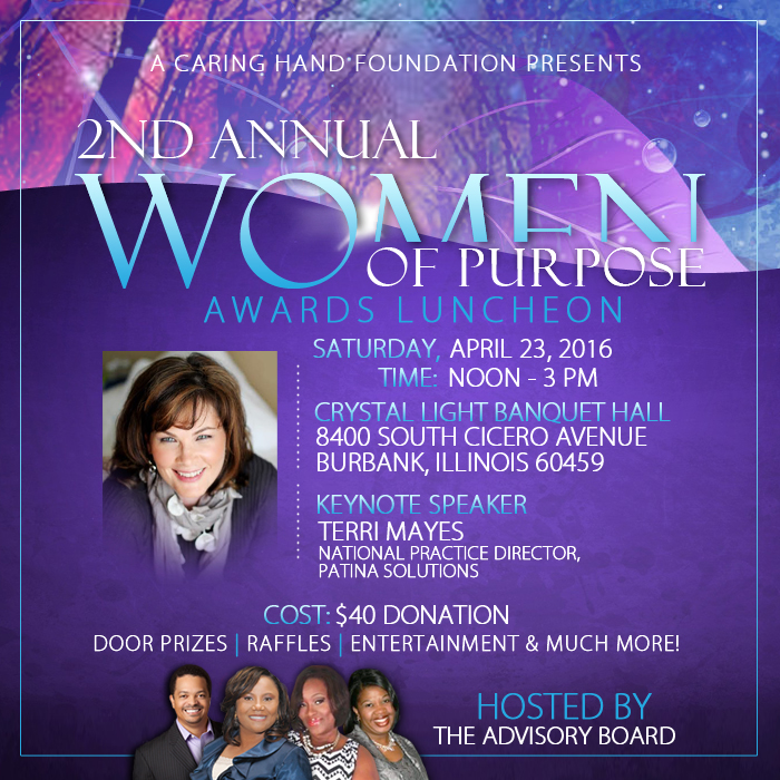 Women Of Purpose 2016